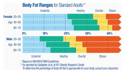 What Is the Normal Body Fat Percentage? eHow